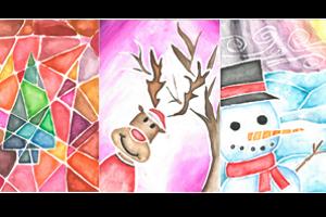 Christmas Card Designs Icon